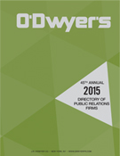 O'Dwyer's Directory of PR Firms