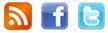 rss,facebook,twitter